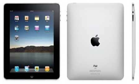 Photo of the iPad