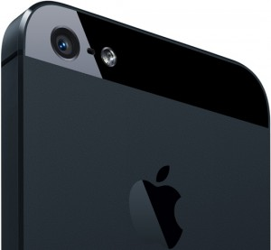 iPhone 5 Back View with Sapphire Crystal Lens