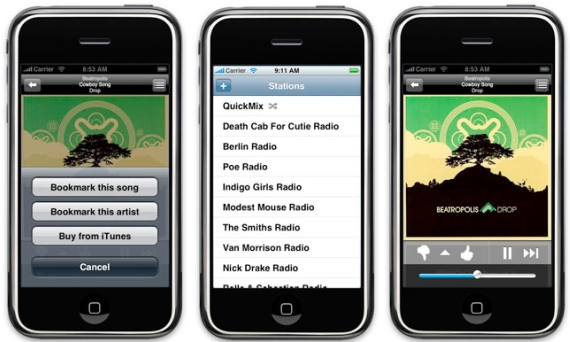 Pandora App for the iPhone 4S