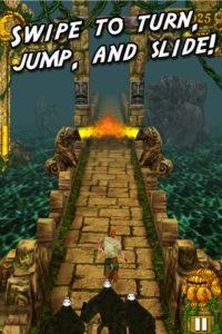 Temple Run for iPhone, iOS