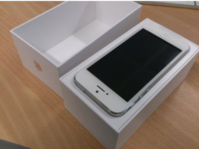 iPhone 5 White Factory Unlocked - Amazon Third Party Sellers